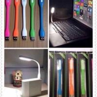 Jual LAMPU SIKAT USB LED EMERGENCY MINI LIGHT LAMP LAPTOP FLEXIBLE PORTABLE Murah