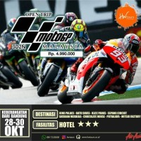 MOTO GP SEPANG OPEN TRIP
