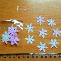 Payet Manik Salju Snow Gradasi Pink - Prakarya