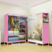Jual lemari portable/lemari rakit Murah