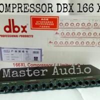 Compressor DBX 166 XL - Black