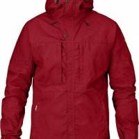 FjallRaven Skogso Jacket Deep Red Size S