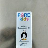 Promo Obat Hidung Tersumbat Pure Kids Inhalant Decongestant Oil 10ml
