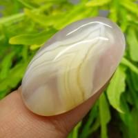 Batu Akik Tundung Bawuk Putih Unik