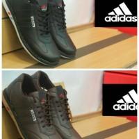 Sepatu Adidas Pria Sport / Sepatu Runing Adidas Hitam Import Murah