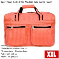 Tas Travel Kulit PRD Modern XX-Large peach