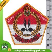 Logo Bedge Pramuka Bordir Saka Wira Kartika