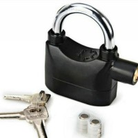 Jual Kinbar Gembok Alarm Lock Kunci Pengaman Rumah Pagar Sepeda Dll Murah Murah