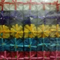 Souvenir Pernikahan Handuk Baby Motif Kembang