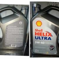 Harga oli mobil mesin pelumas shell helix ultra 5w 40 5w40 4 l | Pembandingharga.com