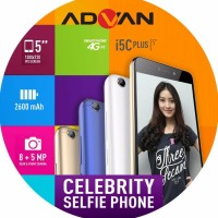 HANDPHONE SMARTPHONE ADVAN I5C PLUS 2/16GB