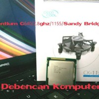 Prosesor intel G640 2.8ghz socket 1155 +fan