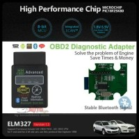 Original Chip OBDII/OBD2 ELM327 V 1.5 HH Advance Mini Bluetooth