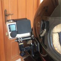Motovlog Side Mount Helm for Bpro Gopro Yicam Action Kamera