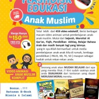 Flasdisk Sandisk 16 GB + kabel OTG Film Kartun Animasi Anak Muslim