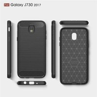 Samsung Galaxy J7 Pro Softcase Carbon Case Casing Cover Silikon TPU