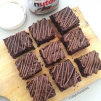 Jual Nutella Fudgy Brownies Murah