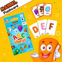 Marbel Huruf Flashcard - Kartu BAYI PINTAR - Belajar Alphabet