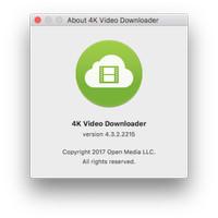 4K Video Downloader Youtube Downloader for Mac Original Lifetime