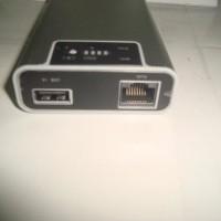 Hame F1 - 3G Mobile Power Router Dan Power Bank 7800mAh (Wifi Router)