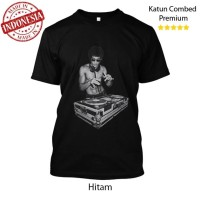 Kaos DJ Bruce Lee Tony Stark Tshirt on Avengers Distro Combed 24s