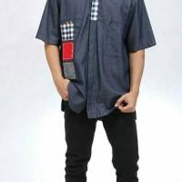 Baju Muslim Dewasa Dannis Koko D'Happy Jeans - Lengan Pendek
