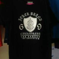 kaos/t shirt keren JOKER BRAND Berkualitas