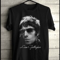 Liam Gallagher Kaos Band Oasis Konser Musik Rock Metal Baju Distro