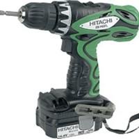 Hitachi Li-ion Cordless Tools DS14DFL 14.4V Cordless Driver Drill