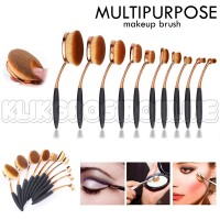 Jual MULTIPURPOSE MAKEUP BRUSH / MERMAID Oval Brush Set A290 Murah