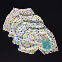 Jual LIBBY 3 Pcs Celana Pendek Bayi/Baby Polkadot S,M,L (6-18M) Murah