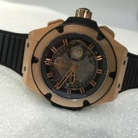Jam Replika Hublot King Power Unico Skeleton Swiss ETA 1:1 Dgn Asli