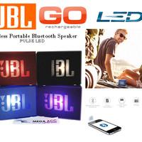 Wireless Portable Speaker JBL GO LED With Port Usb-Tf Card-Aux Terbaru