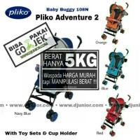 PLIKO - ADVENTURE 2 STROLLER BAYI / KERETA DORONG