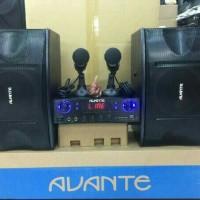 paket karaoke speaker avante mantap