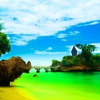 Lukisan Foto Pantai Balekambang (60 x 40 cm)