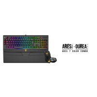 GAMDIAS ARES 7 COLOR + OUREA FPS Gaming Keyboard & Mouse Combo