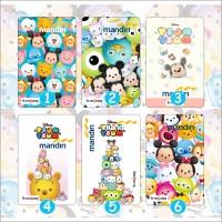 Jual Kartu Emoney Mandiri Design Disney Tsum Tsum - Custom Print Cetak Card Murah