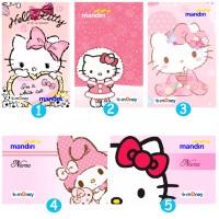Jual Kartu Emoney Mandiri Design Hello kitty - Custom Print Cetak Card Murah