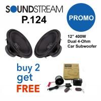 Promo Subwoofer Soundstream P.124 Beli 2 FREE ALARM STEELMATE E SERIES
