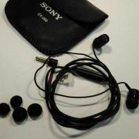 HEADSET HEADPHONE EARPHONE HANSFREE SONY EX-200
