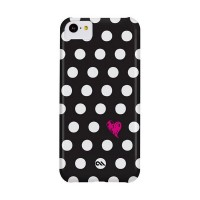 Case-Mate iPhone 5 Barely There Prints - Polka Love