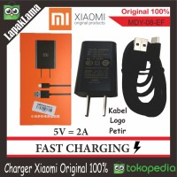 Charger hp Xiaomi 2A Original ORI 100% Chargeran Kabel Data 100 %