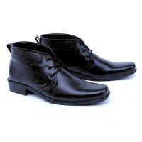 Sepatu Pantofel Boots Pria Kulit Super Garsel GL2654