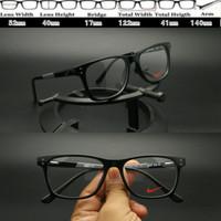 Frame Kacamata Nike 5541 Black Grey Kacamata sport MURAH 5be038d6fa
