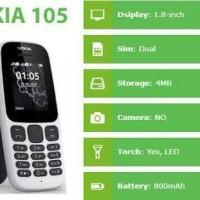 Microsoft Nokia 105- Dual Sim Card