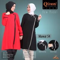 Qirani Dewasa Mawar 54   Baju Perempuan Wanita Muslim Gamis Dress.