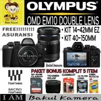 OLYMPUS MIRRORLESS OM-D E-M10 MARK 2 KIT 14-42MM & 40-150MM / OMD EM10