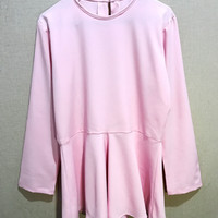Jual baju atasan blouse peplum top Murah