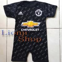 Jual Baby Jumper / Baju Bola Bayi Cowok Manchester United 3rd Murah
